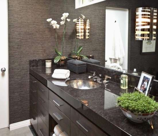 Stylish Truly Masculine Bathroom Décor Ideas